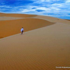 Пустыня, Красный каньон, Озеро лотосов. Муйне. Экскурсии из Нячанга, Вьетнам